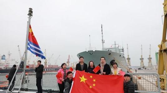中国海军第二十七批护航编队访问摩洛哥