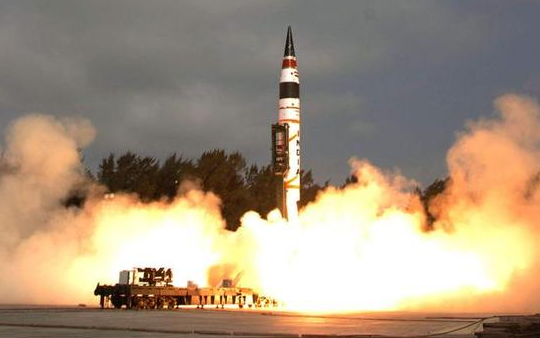 """解析印度""""烈火-5""""导弹:突防能力整体不足"""