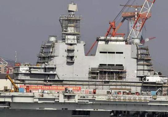 中国第3艘航母船体分段模块或已建成 今年有望亮相